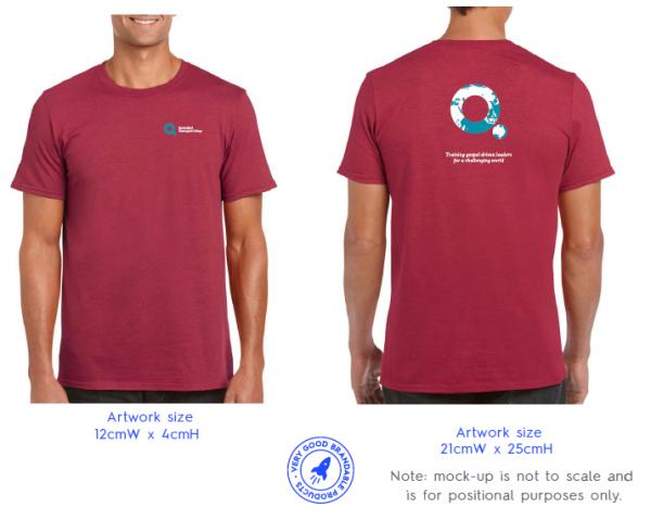 antique cherry red tshirt